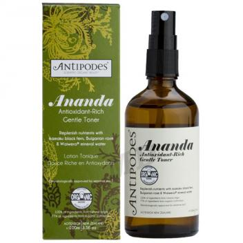 温和爽肤水 化妆水 孕妇可用 Ananda Antioxidant Rich Gentle Toner 100ml