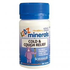 婴儿感冒咳嗽片100片 KIDZ minerals Cold&Cough relief