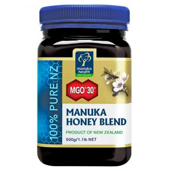 【七夕 美食】MGO30+麦卢卡蜂蜜500g 蜜纽康Manuka Health MGO30+ Manuka Honey Blend  500g