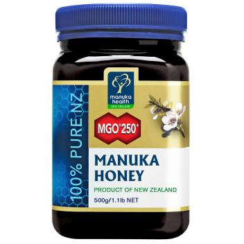 【七夕 美食】MGO250+麦卢卡蜂蜜500g 蜜纽康Manuka Health MGO250+ Manuka Honey500g