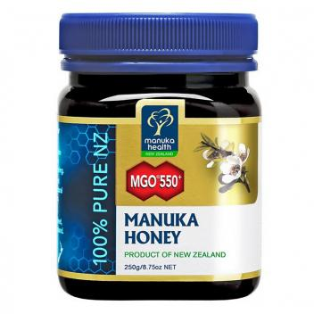 【七夕 美食】MGO550+麦卢卡蜂蜜 250g 蜜纽康 Manuka Health MGO550+ Manuka Honey 250g