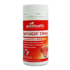 好健康 辅酶&鱼油Opti CoQ10 150mg  60粒  Good Health Opti CoQ10 150mg
