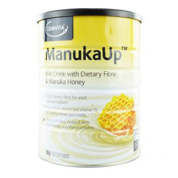 康维他 新西兰脱脂营养粉 含UMF5+麦卢卡蜂蜜 900g Comvita Manukaup UMF5+ Milk Drink With Dietary Fibre&Manuka Honey 900g