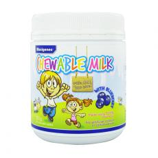 【七夕小情人】美可卓 蓝莓素牛奶护眼咀嚼片 300g Maxigenes Chewable Milk With Blueberry 150 Chewable Tablets