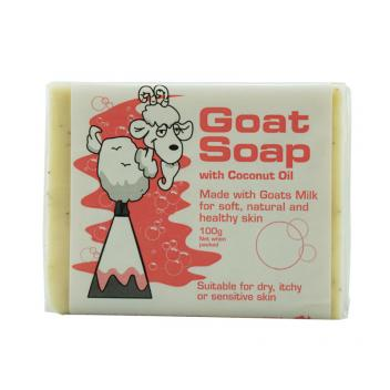 Goat 椰油羊奶皂 100g Goat Soap With Coconut...