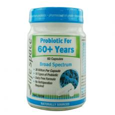 Life Space 60岁以上老年人益生菌胶囊 60粒 Life Space Probiotic For 60+