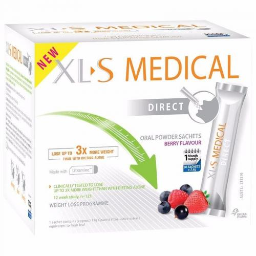 XL-S Medical 天然瘦身减肥粉 90袋  XL-S Medical Direct Sachets 90 Pack