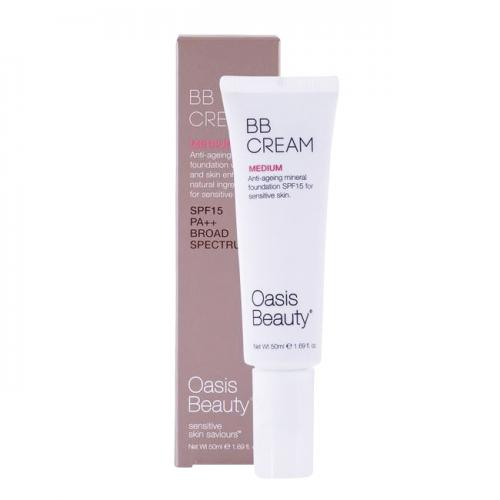 天然有机BB霜 孕妇可用 适合自然肤色 50ml Oasis Beauty The Monroe Organic BB Cream 50ml