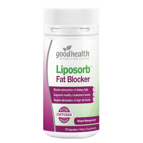 好健康 甲殼壳素吸脂胶囊 70粒 Good Health Liposorb ...