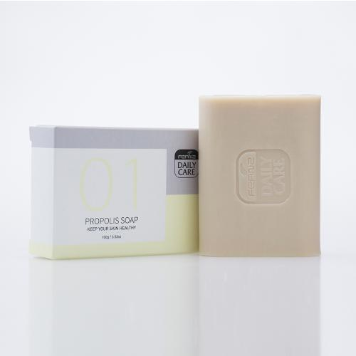 FERNZ美肤香水皂 01蜂胶皂 抗菌消炎 100g 蜂蘭 日常关怀系列 FERNZ Daily Care Propolis Soap 100g