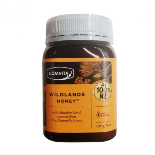 野生花蜜 500g 康维他 Comvita Wildlands Honey ...