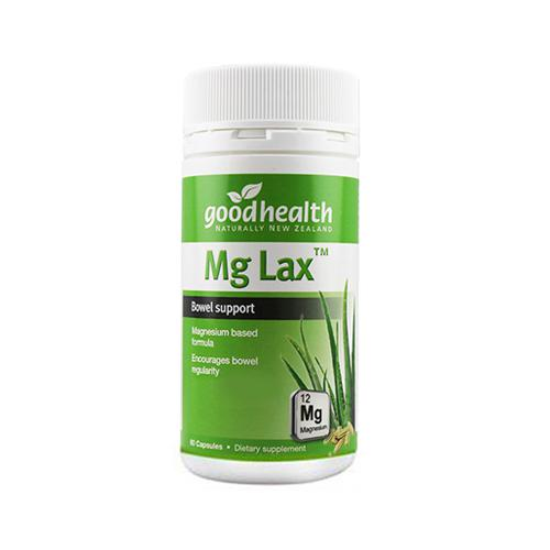 好健康 天然通便剂 60粒 Good Health Mg lax【新旧包装随...