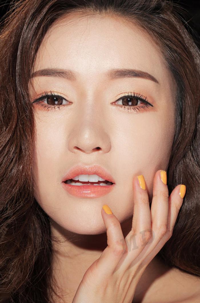 橙色唇膏_504恬静的天然橙色 水润口红 唇膏(方管)3ce 3 concept eyes lip